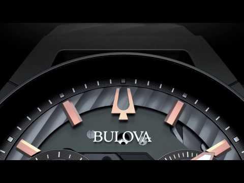 BULOVA: первые в мире часы с изогнутым механизмом хронографа