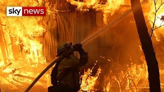 Deadliest wildfire in California's history