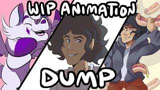 WIP Animation Dump #2