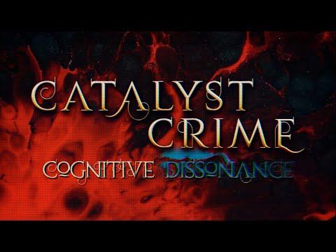 CATALYST CRIME - Cognitive Dissonance [Feat. Jake E] (Lyric Video)