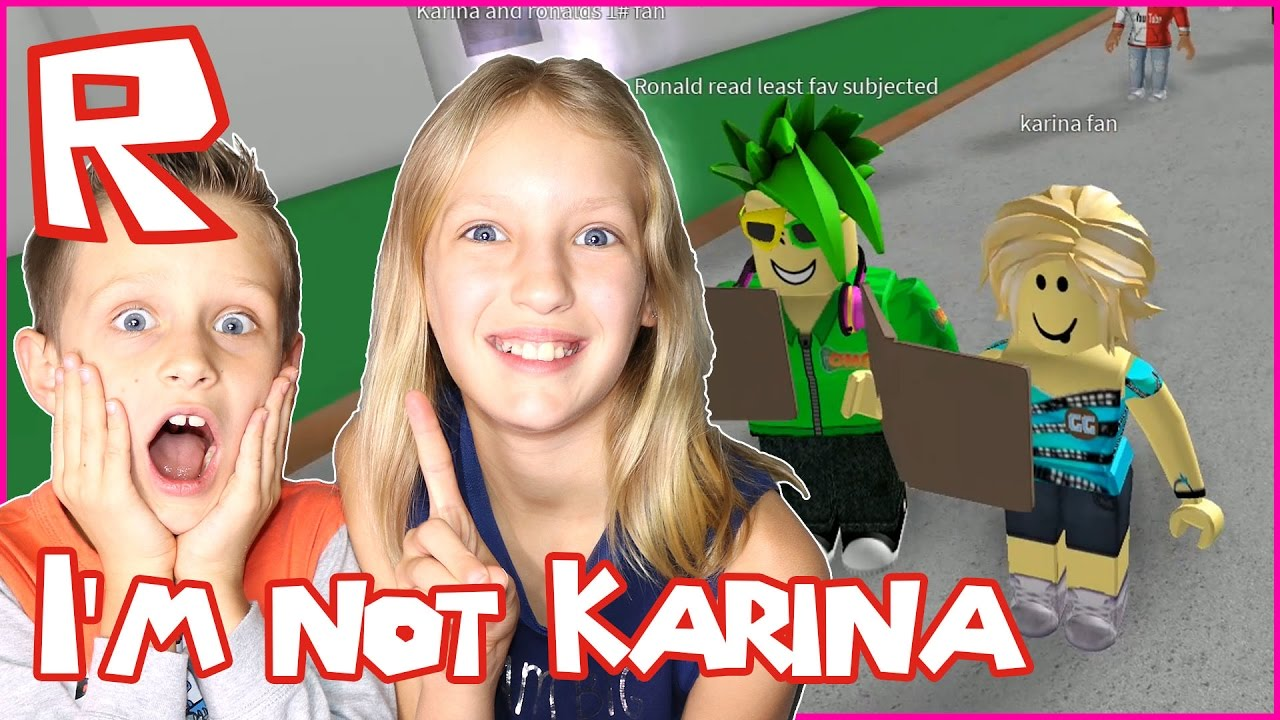 karina and ronald videos roblox