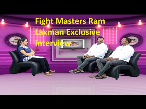 Fight Masters Ram Laxman Exclusive Interview | Coffees and Movies | HMTV