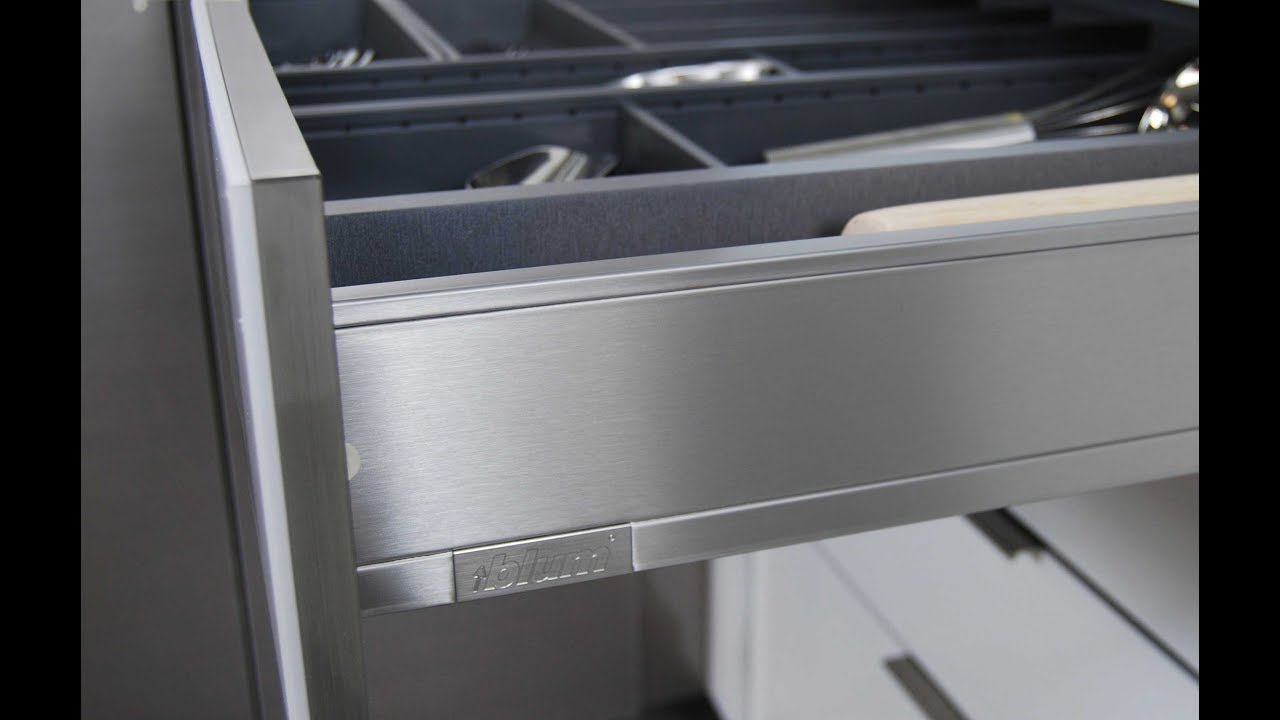 Stainless Steel Drawers And Roll Out Shelves From Dura Supreme