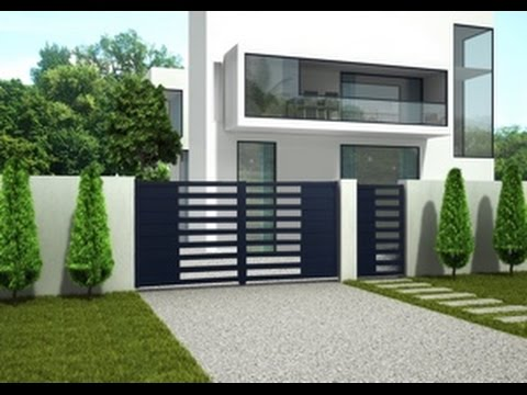 vid o de montage portail aluminium maya mod le 2. Black Bedroom Furniture Sets. Home Design Ideas