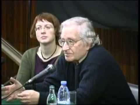 Noam Chomsky meets the Workers Solidarity Movement in Irelan