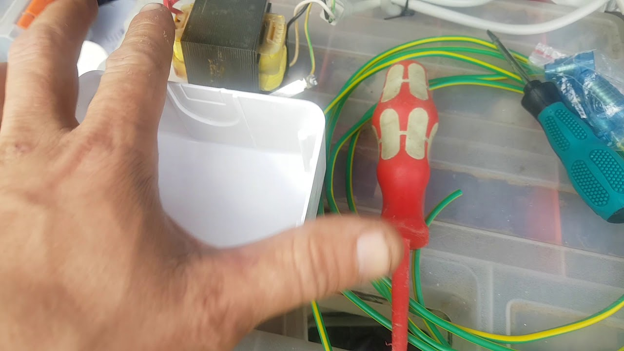 Will an alarm transformer fit into a large j-box?