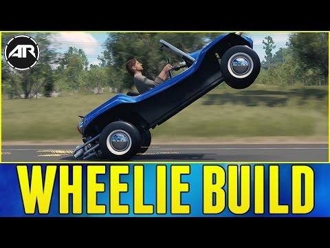 Forza Horizon 3 : WHEELIE BUILD!!! (How To Do Wheelies In FH3)