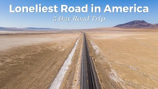 Loneliest Road in America Road Trip: 3 Days Driving Highway 50 Through Nevada