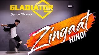 Zingaat Hindi | Dhadak | shivam wankhede |Choreography Akhil tilakpure | Gladiaor Dance Classes