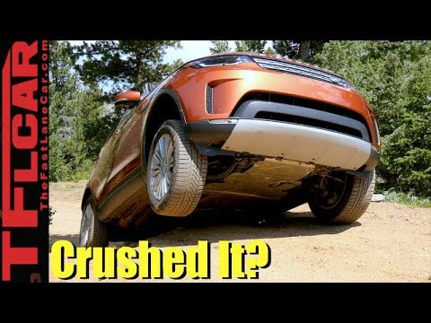 Made It Look Easy! New Land Rover Discovery vs Gold Mine Hill