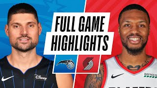 Download MAGIC at TRAIL BLAZERS | FULL GAME HIGHLIGHTS | February 9, 2021