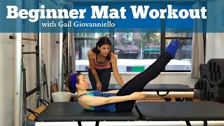 Pilates Mat Workout with Gail Giovanniello (Mind Your Body, NYC)