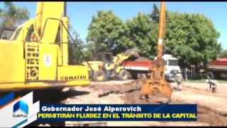Iniciaron las obras para la apertura de las calles Córdoba y Mendoza - Gobierno de Tucumán