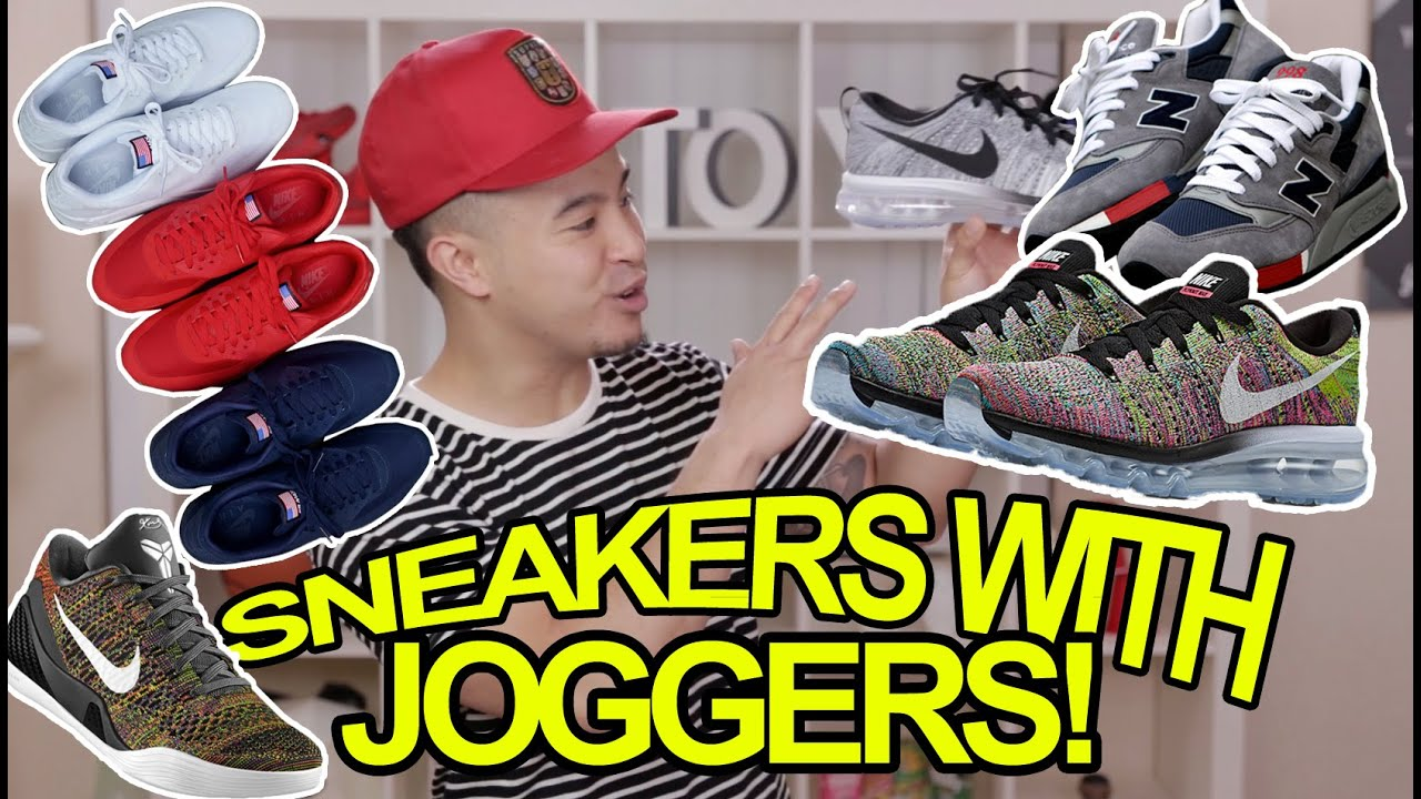 What Shoes To Wear With Joggers Pants