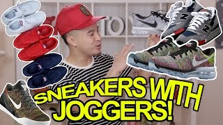 TOP 5 SNEAKERS TO WEAR WITH JOGGERS(Download Snupps to your iPhone or Android: http://i.snupp.it/RichieLe Follow me on Snupps: https://www.snupps.com/richiele23 Follow on Instagram!, 2015-05-28T18:00:00.000Z)