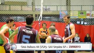 Basquet: Resumen Club Italiano 44 - UAI Urquiza 67
