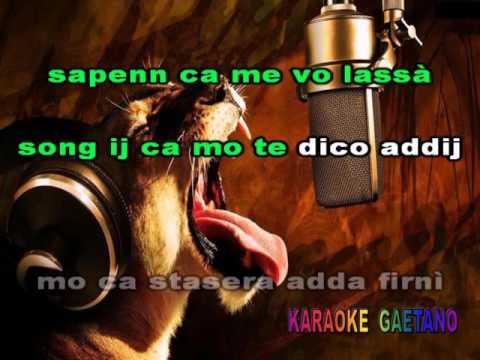 Caputo Mauro   T'aggia scurdà Karaoke