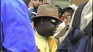 Howard Univ. Homecoming 1995 (Biggie and P Diddy at Yardfest)