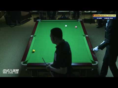 Wang Peng VS Zheng Yubo - Part 1 - Chinese 8 Ball International Masters 2013   Suzhou Station