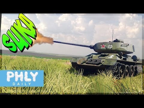 POINT CLICK KILL | T-34 85 Nuke Shells (War Thunder Tanks Gameplay)