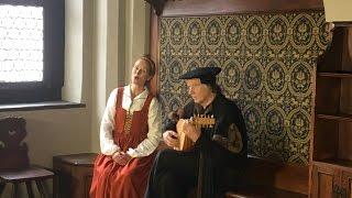 Vom Himmel Hoch Da Komm Ich Her Luther Ein Kind Geborn Zu Bethlehem Tabulaturhandschrift 1512