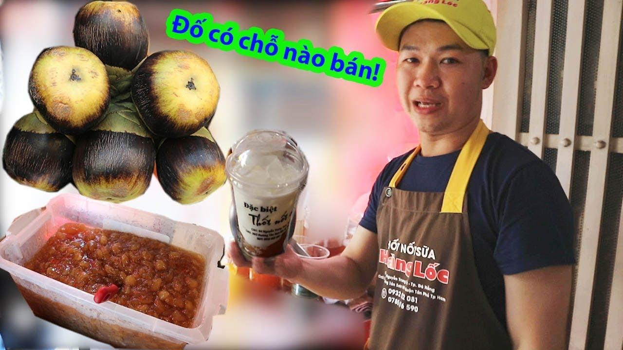 Thốt nốt sữa mật ong của anh trai vui vẻ, món ăn độc lạ mới xuất hiện Sài Gòn