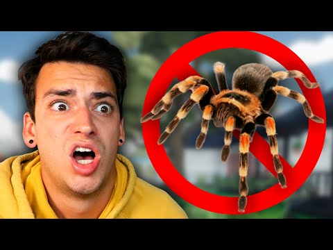 SCARY SPIDER INFESTATION! (Kill It With Fire)  