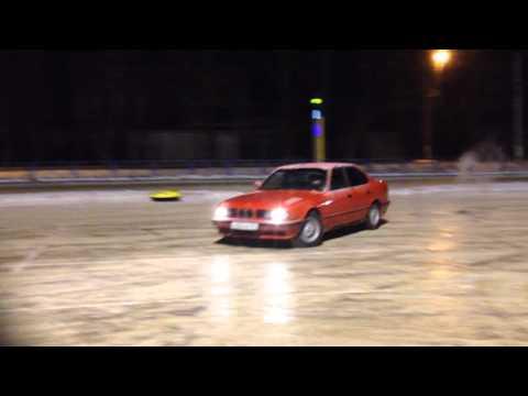 Bmw M5 E34 Snow Drift Youtube