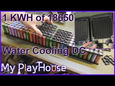 1KWh PowerBank & Water Cooled Data Center - 549