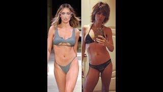 Lisa Rinna, 54, and Model Daughter Delilah Belle Hamlin, 20, Flaunt Their Bikini Bod ies