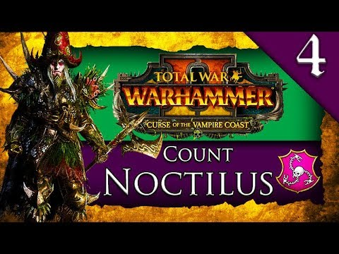 SIEGE OF LOTHERN! Total War: Warhammer 2: Vampire Coast: Count Noctilus Campaign Gameplay #4