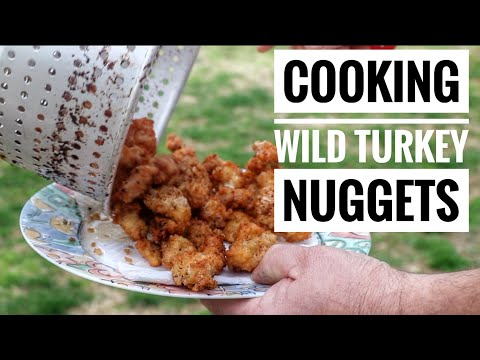 How to Cook/Fry Wild Turkey Nuggets!  S9  #7