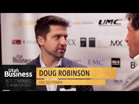 "Doug Robinson: Interview at ""Best Companies to Work For"""