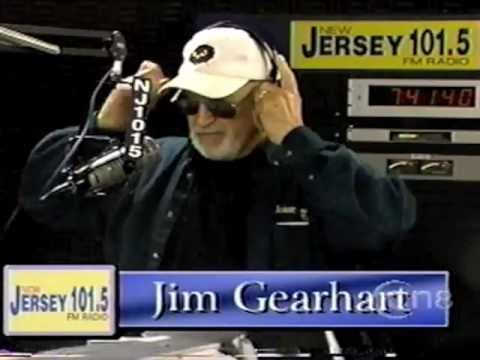 Jim Gearhart on New Jersey 101.5 from CN8-TV