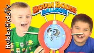 Who POPS the Balloon? Game with HobbyKidsTV
