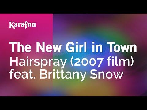 Karaoke The New Girl In Town - Hairspray *
