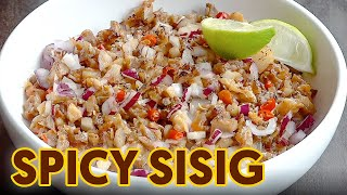 Maanghang na Sisig | Pulutan | Super Easy Recipe