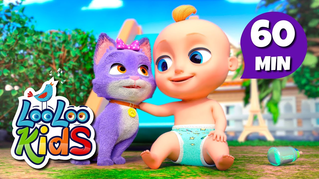 Pussy Cat, Pussy Cat - Educational Songs for Children   LooLoo Kids