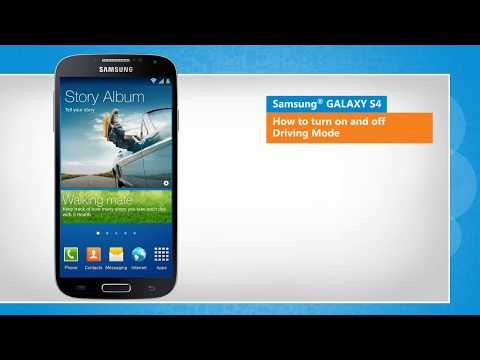 How To Enable/Disable Driving Mode On Samsung® GALAXY S4