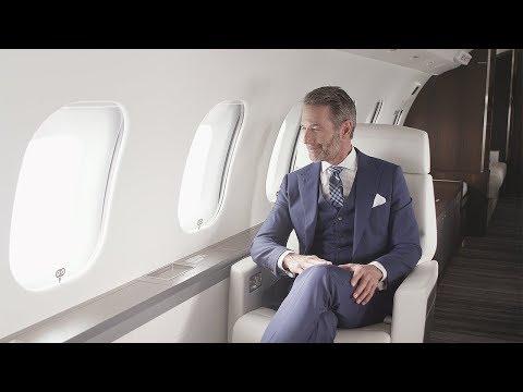BOMBARDIER : La cabine Premier des avions Global