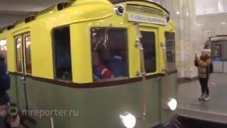 Экскурсионная поездка на ретро-поезде «А» в Московском метро