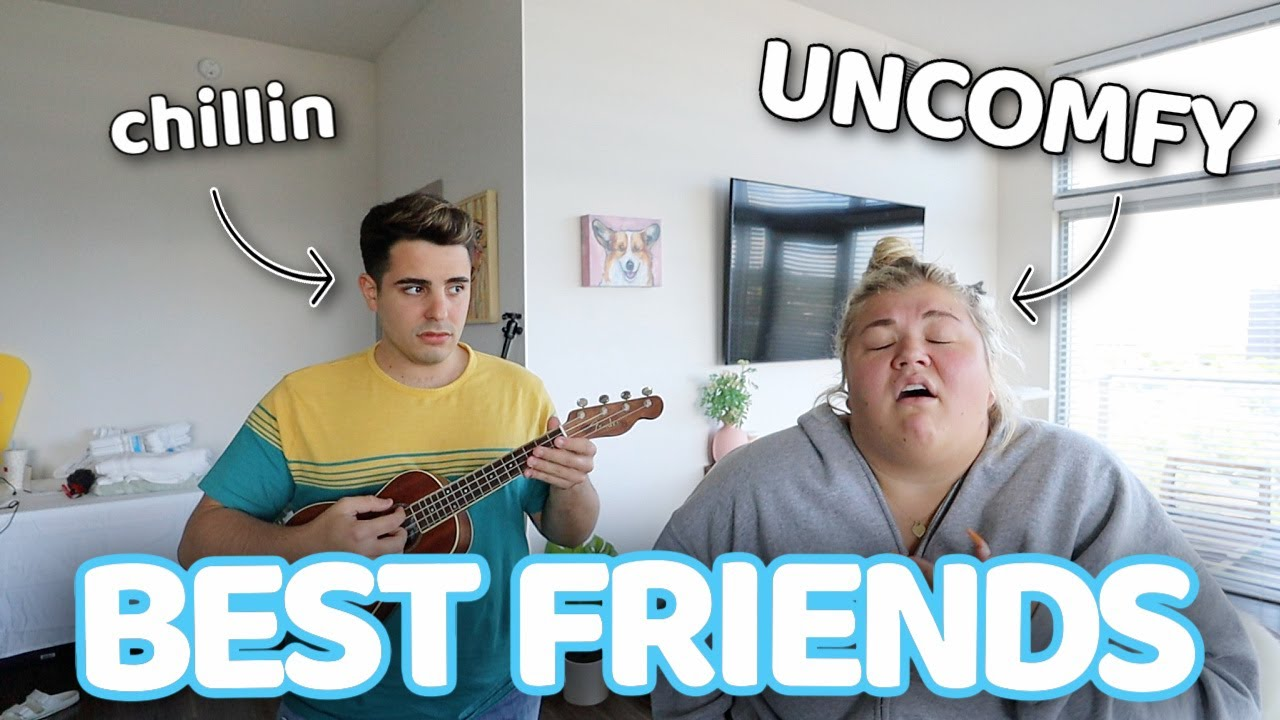 ASKING MY BEST FRIEND *UNCOMFORTABLE* QUESTIONS...