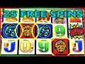 💰🎰 4 SYMBOL TRIGGER 25 FREE SPINS 🌕 DAY & NIGHT 🌘 SLOT MACHINE BONUS 🎰💰