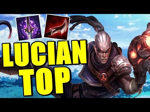 LUCIAN TOP NEW META - INSANE BRUISER BUILD | League Of Legends |