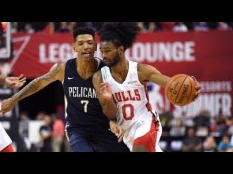Coby White's Strong Summer League Continues | 25 Pts vs. Pels (FULL HIGHLIGHTS)