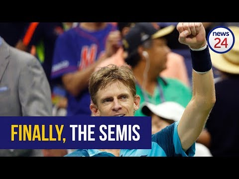 WATCH: Kevin Anderson's match-winning point to reach US Open semis