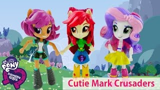 Compilation - My Little Pony Cutie Mark Crusader Equestria Girls Apple Bloom Sweetie Belle Scootaloo