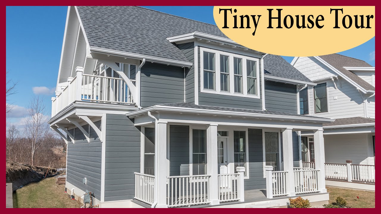 Tiny House Living - The Perfect Little House from Heritage Harbor