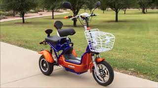 EW 37 Scooter by E-Wheels Demonstration Video