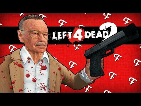 L4D2: Stan Lee VS Venom Symbiote Zombie Apocalypse! (Left 4 Dead 2 Marvel - Comedy Gaming)